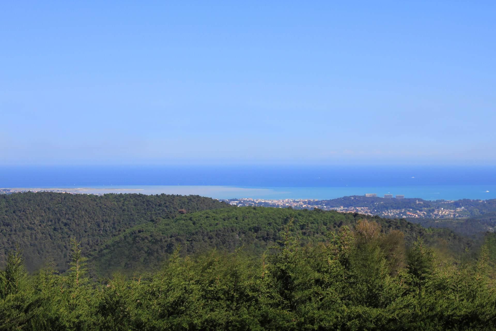 Vue sur mer maison d'hôtes Bleu Azur