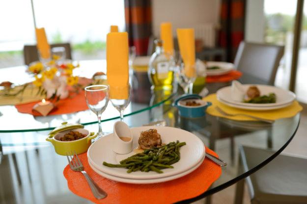 Repas table d'hôtes